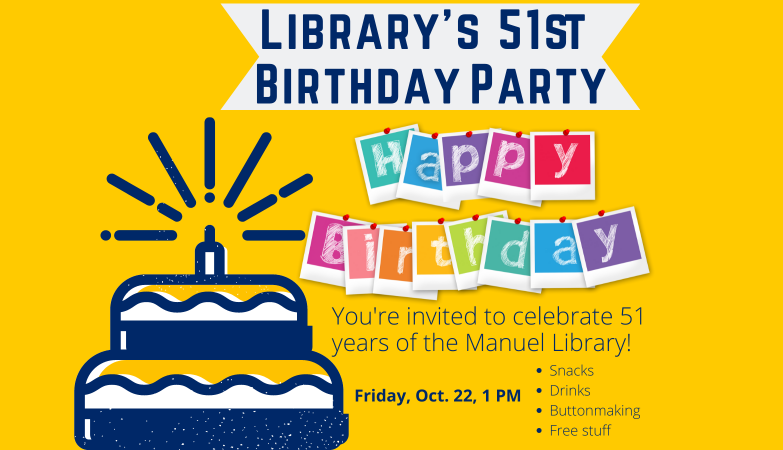 Birthday party this Friday at 1 pm
