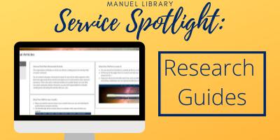 Service spotlight: research guides